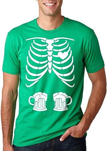 Milky Way Tshirts St Patriks DAT Esqueleto de la Radiografía Pud Camiseta de la Cerveza T-Camisa de los Hombres: Amazon.es: Ropa y accesorios