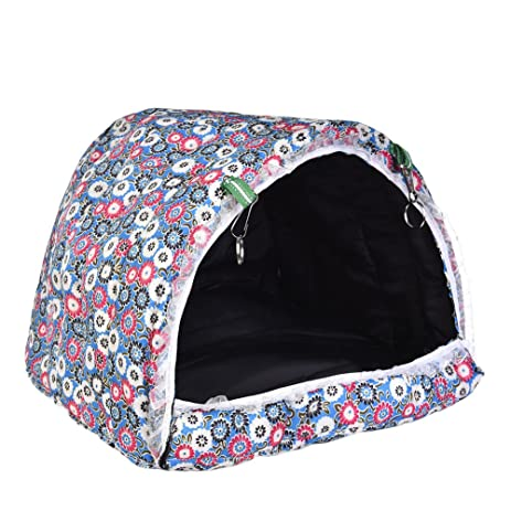 Yunt Warm Hammock Hanging Tent Bed House Habitats Cage Hook Printing Convertible Cotton House for Hamster  sc 1 st  Amazon.com & Amazon.com : Yunt Warm Hammock Hanging Tent Bed House Habitats ...