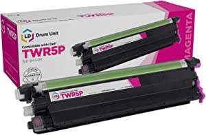 LD Compatible Drum Cartridge Replacement for Dell 331-8434M TWR5P (Magenta)