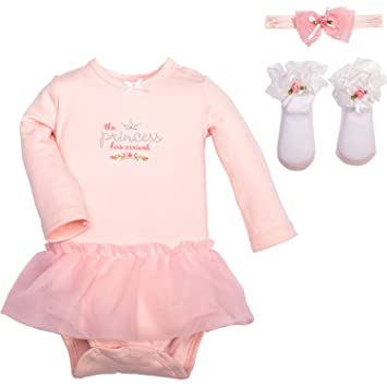 Stepping Stones by C.R. Gibson. The Little Princess has arrived 3-Piece Gift Set WLM