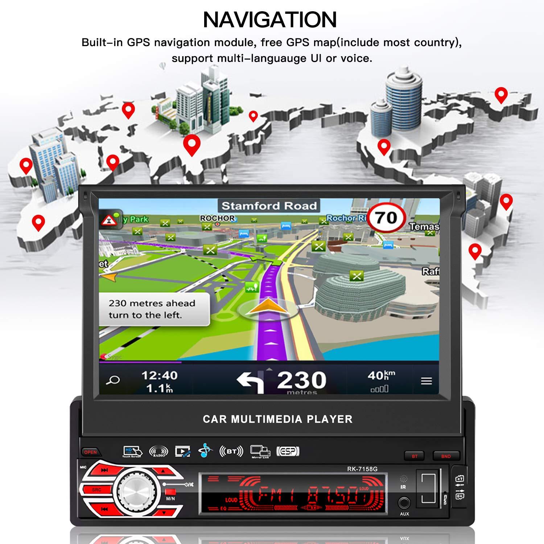 Ordentlich 2 Din Auto Radio 9 Zoll Voll Drücken Sie Spiegel Link Auto Stereo Player Auto Multimedia Player Mp5 Bluetooth Usb Auto radio Radio Unterhaltungselektronik