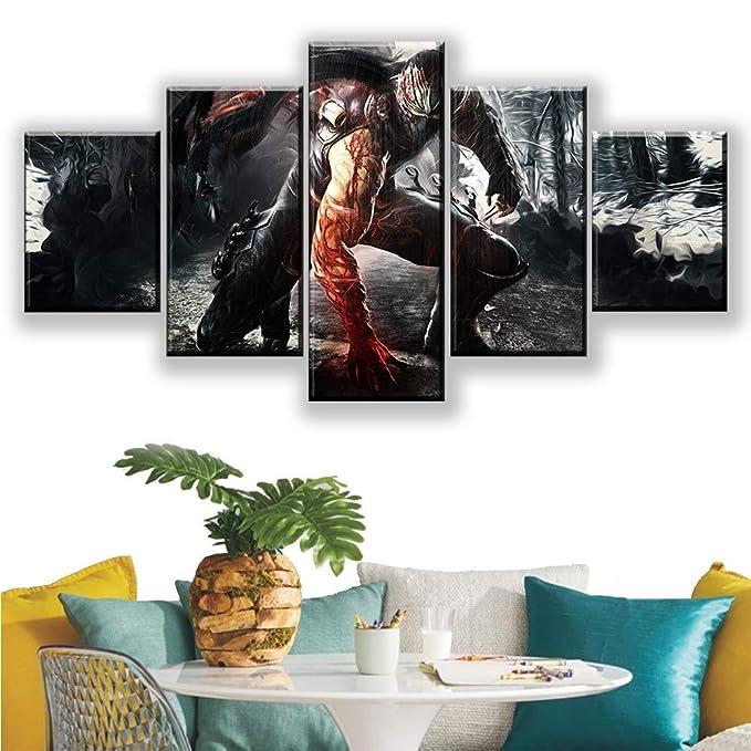 WEPAINT 5 Piezas HD Fotos de Ninja Imprimir RYU Hayabusa ...