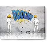Wall Decor for Bedroom Canvas Prints Picture Naughty Boy Framed Bathroom Decor Wall Art Modern Popular Wall Decorations…
