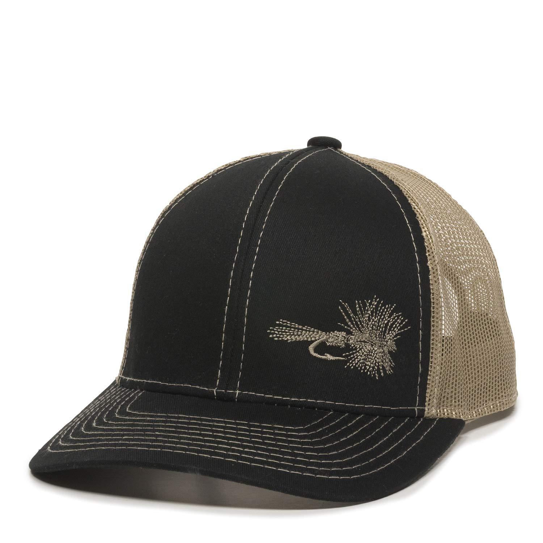 Fish Lure Trucker Hat - Adjustable Baseball Cap w Plastic Snapback Closure  at Amazon Men s Clothing store  ac52088157f