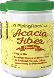 Piping Rock Acacia Fiber Powder 2 Bottles x 12 oz (340 g) Easy Mix Dietary Supplement