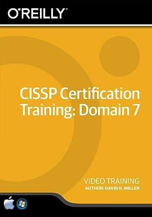 CISSP Certification Training: Domain 7 [Online Code]