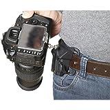 Forepin® Strong Universal SLR DSLR Camera Waist Belt Buckle Hard Plastic GoPro Fast Loading Tripod Mount Clip Adapter Holster Holder for Canon Nikon Sony DSLR