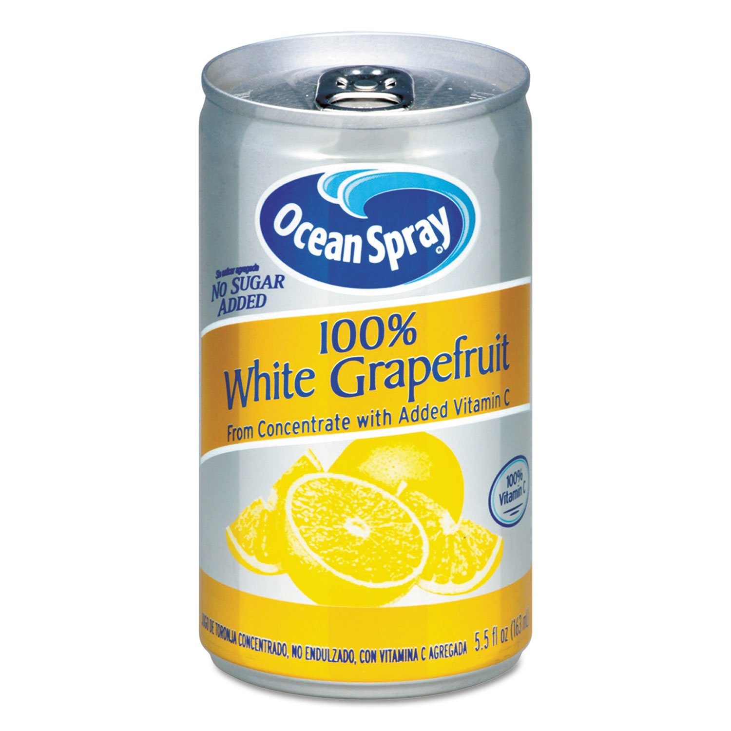 Ocean Spray 00866 100% Juice, White Grapefruit, 5 1/2 oz Can by Ocean Spray
