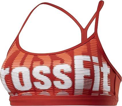 Reebok CF Skinny Strap Bra -Crossfit Repeat Sujetador Deportivo Mujer
