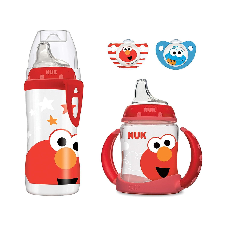 Amazon.com: NUK Sesame Street Transition Bundle: Baby