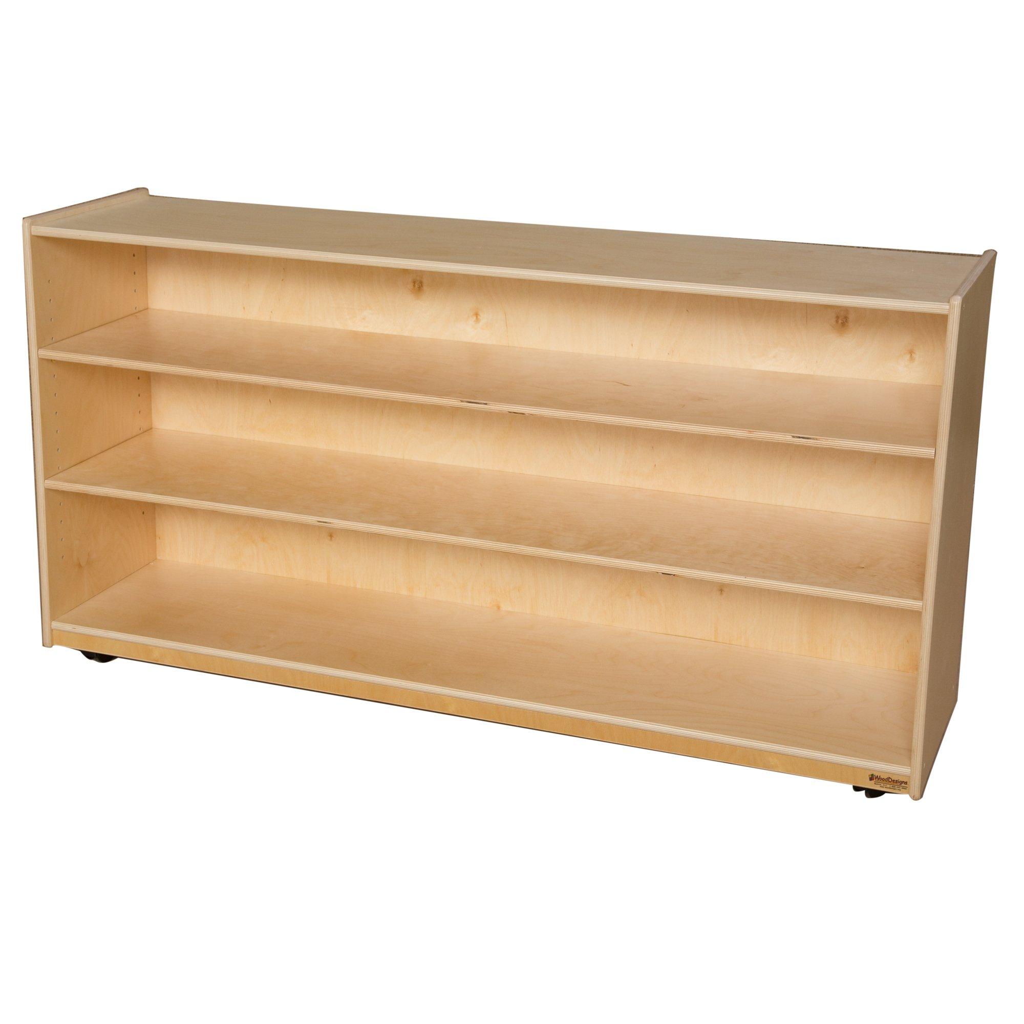 Wood Designs 995832 Mobile Shelf Storage