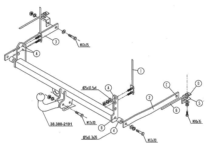 96 Gooseneck Universal 7 Pin