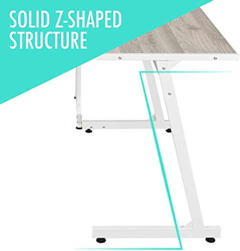 Ethan L-Shaped Corner Computer Desk Table
