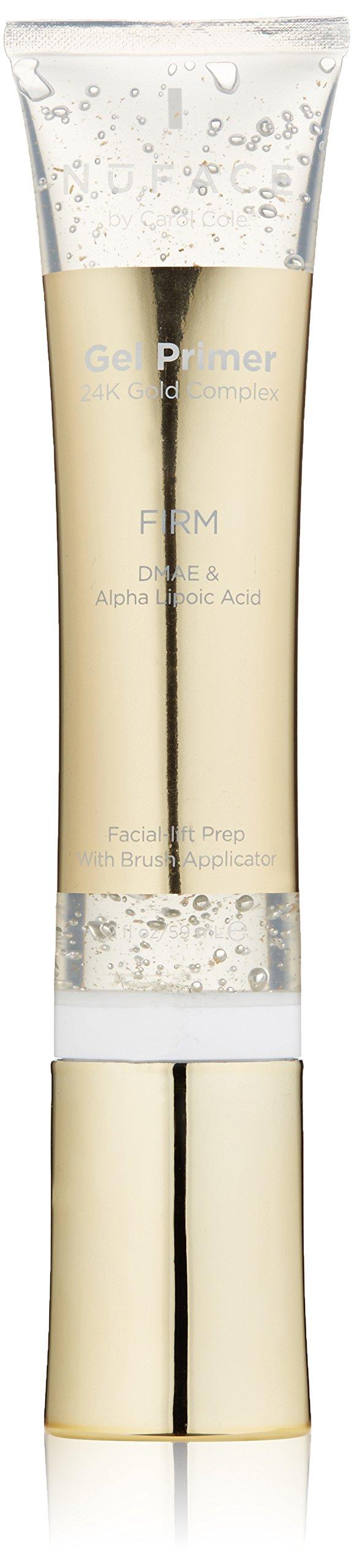 NuFACE 24K Gold Firm Fragrance-Free Primer Gel, 2 oz.