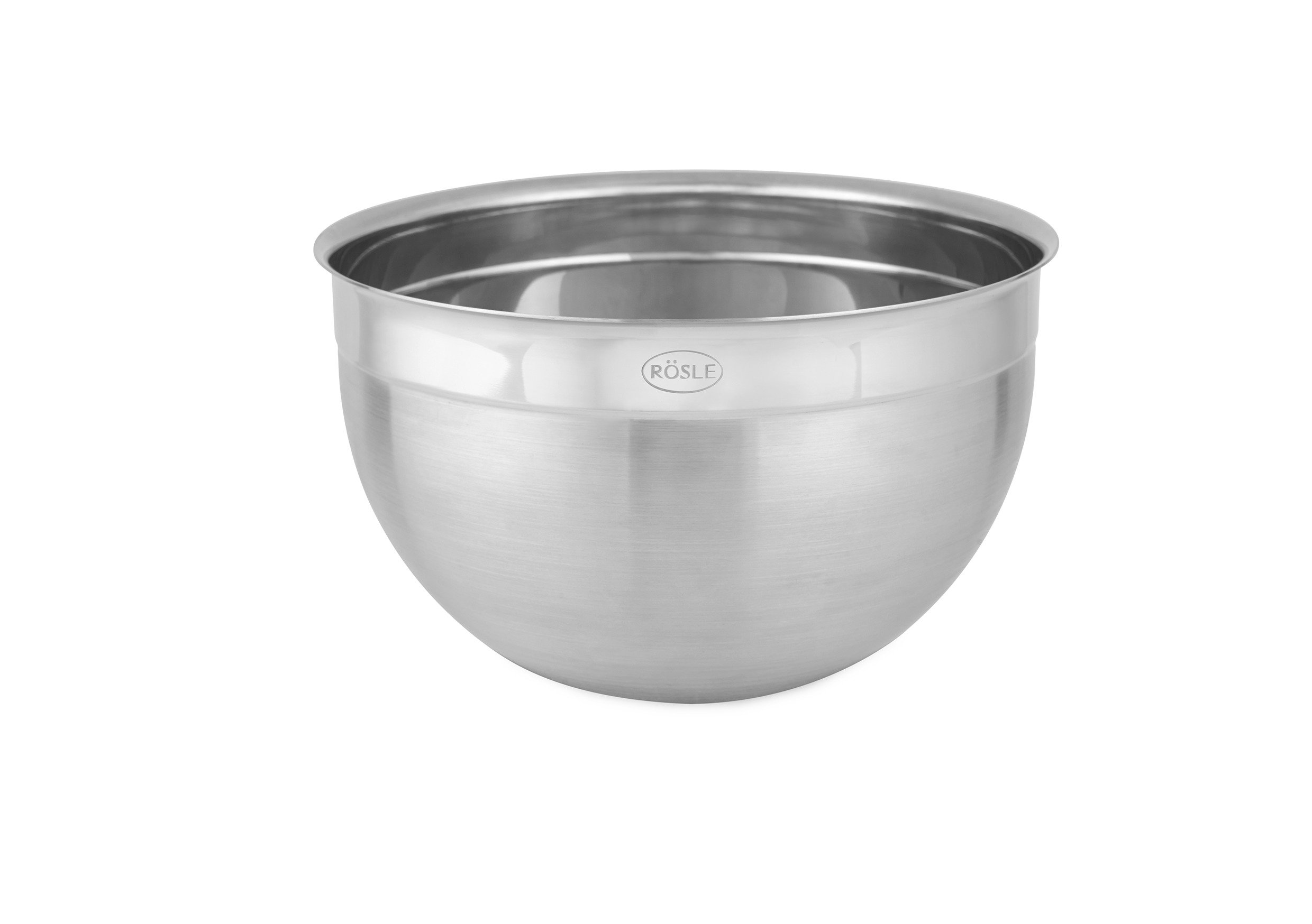Rosle 15688 Rösle Stainless Steel 9-quart Bowl, 11'' Diameter by Rosle