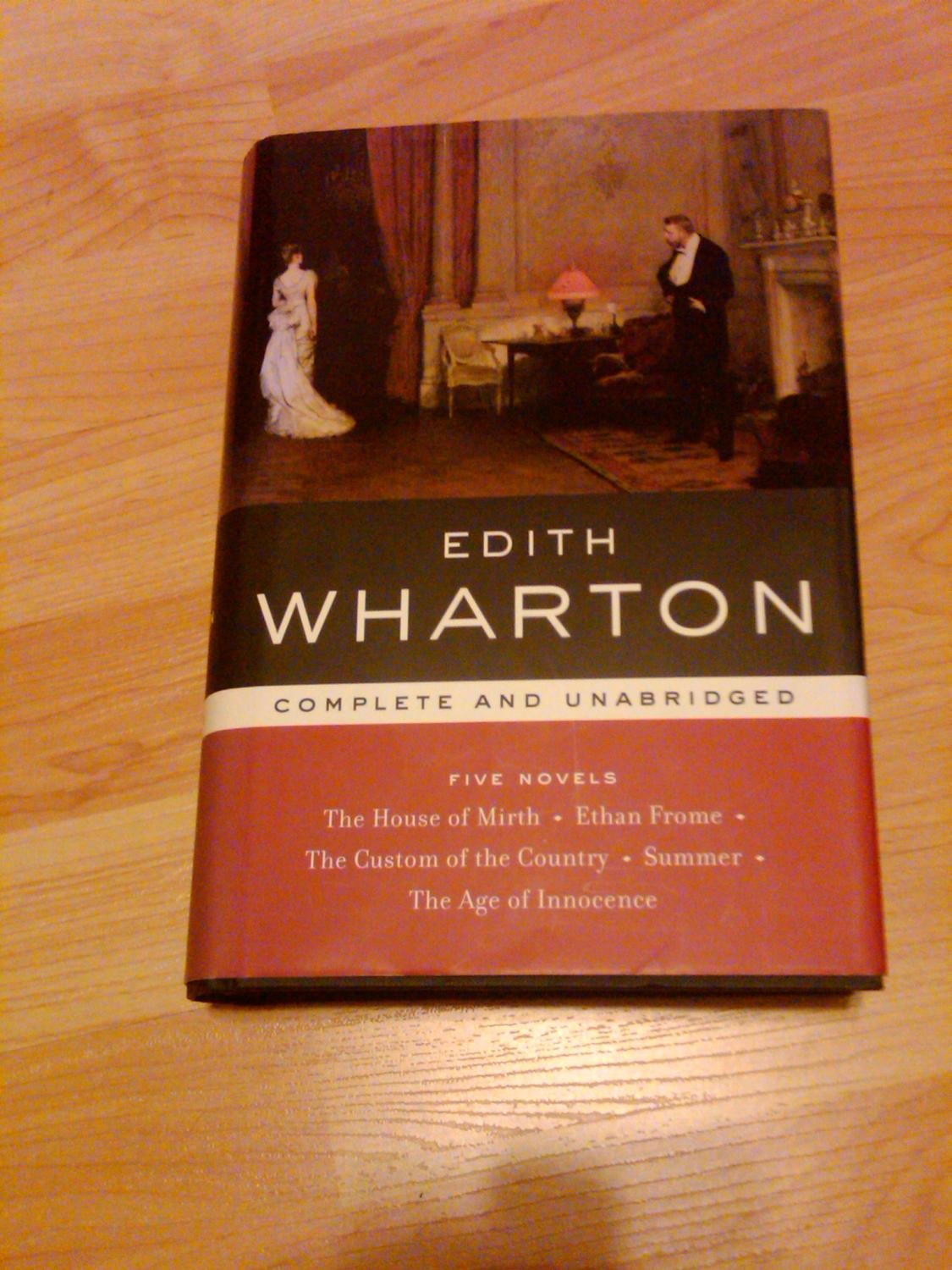 Download Edith Wharton: Five Novels (Library of Essential Writers) PDF