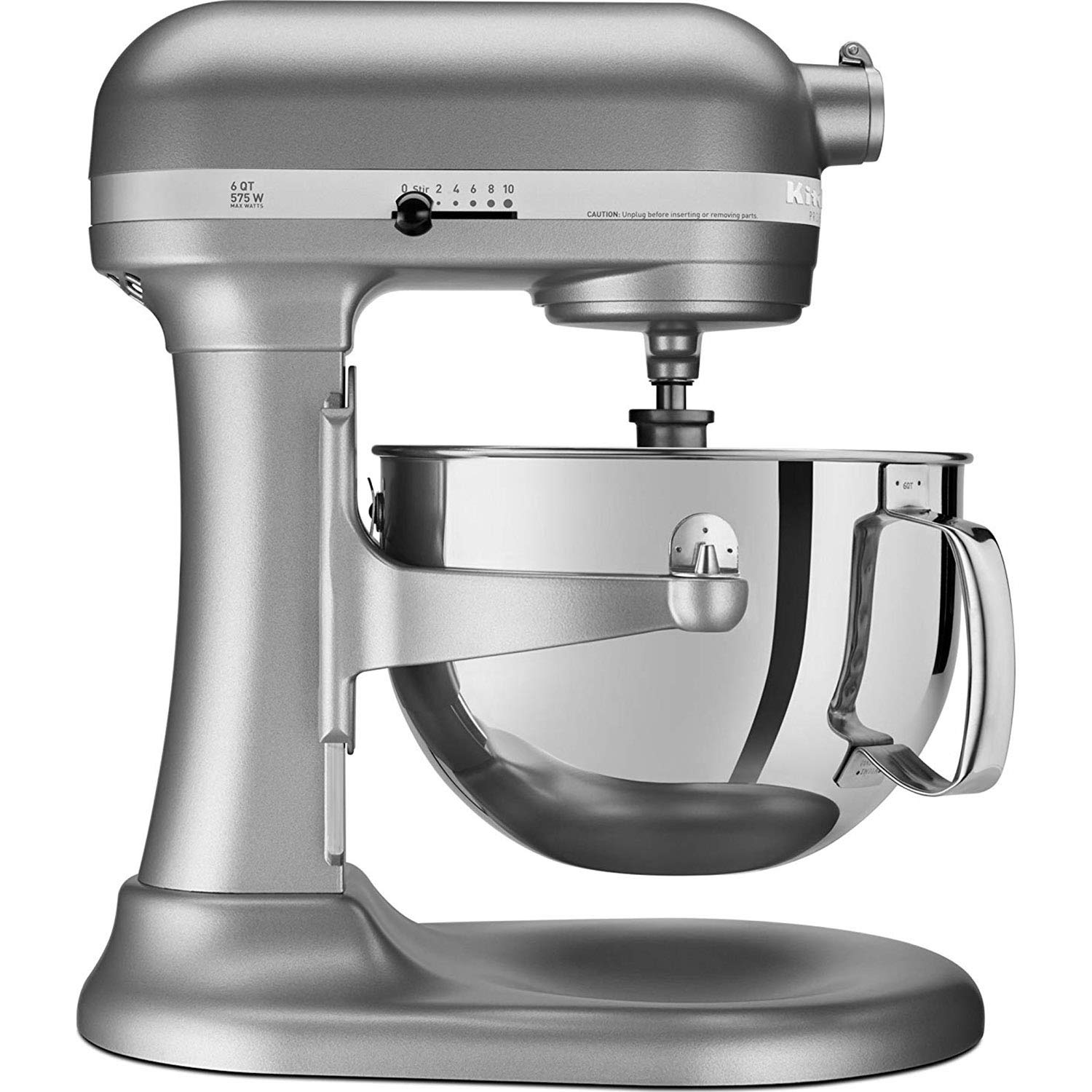 KitchenAid Professional 600 Series KP26M1XER Bowl-Lift Stand Mixer, 6 Quart, Silver