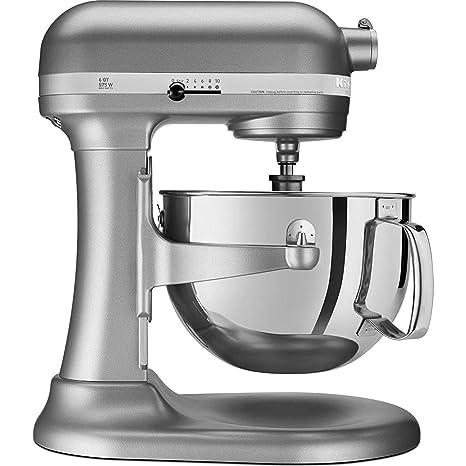 KitchenAid Professional 600 Series KP26M1XER Bowl-Lift Stand Mixer, 6  Quart, Silver