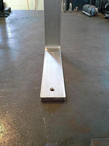 heavy duty brushed stainless steel corbel countertop support bracket granite quartz marble mantel