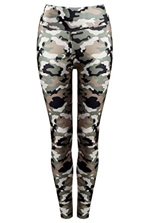 Damen Thermo Leggings Winter Fell Leggings Army Military