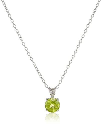 pendant silver necklace original peridot in williamwhite product