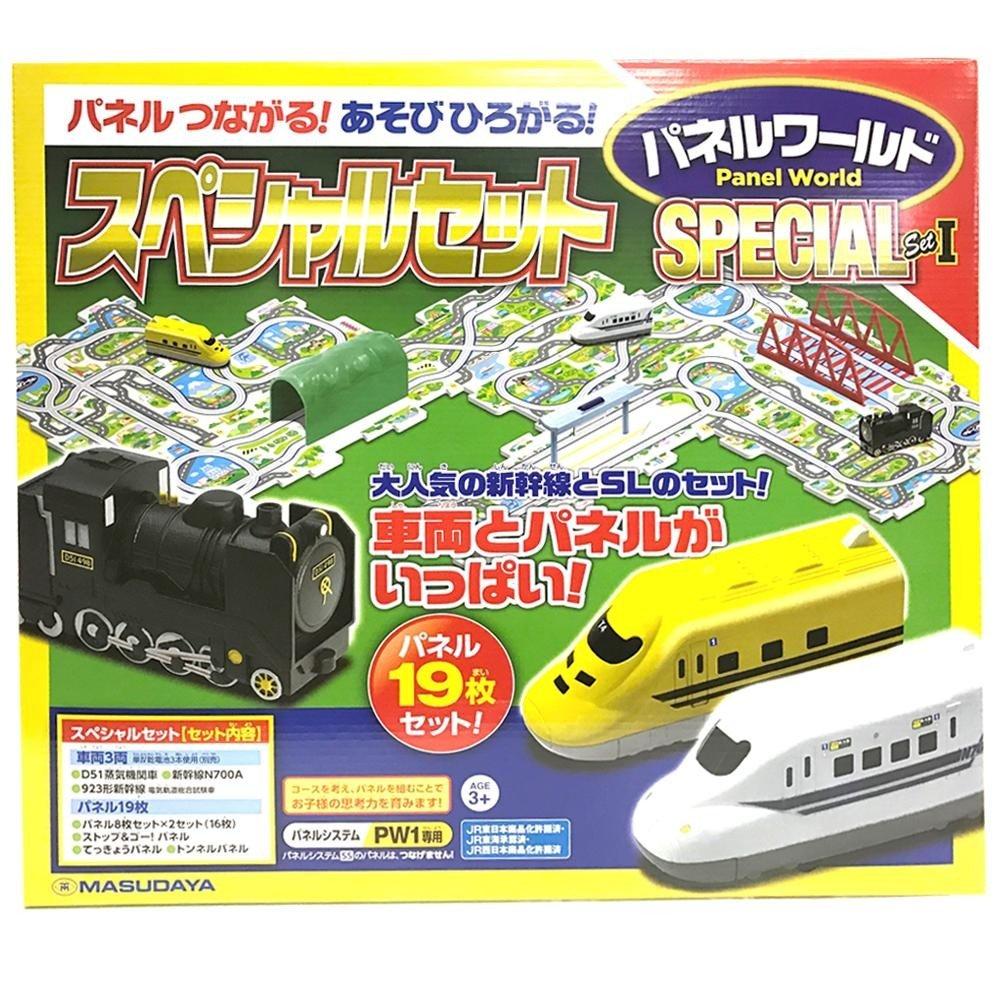 日用品 玩具 関連商品 スペシャルセット 1(車両3両、パネル19枚) B076B6P5NG