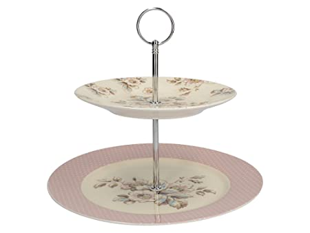 Creative Tops Katie Alice Cottage Flower Vintage-Inspired Porcelain 2-Tier Cake Stand by  sc 1 st  Amazon UK & Creative Tops Katie Alice Cottage Flower Vintage-Inspired Porcelain ...