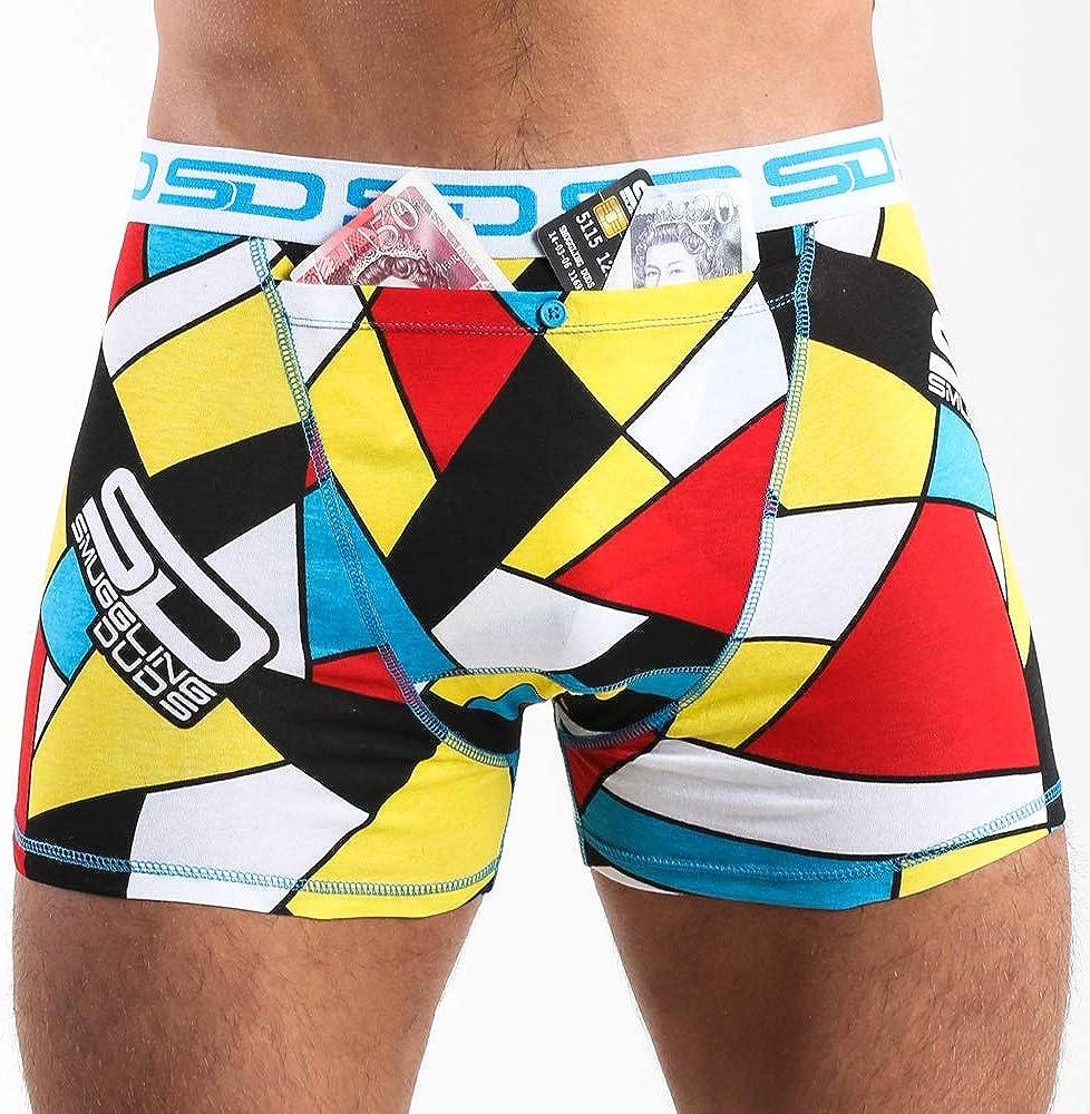 Stash Boxer Shorts with Large Pickpocket Proof Secret Pocket 2 Pairs
