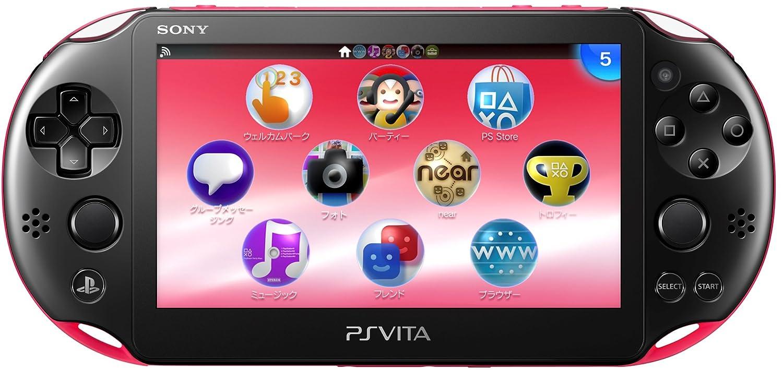 PlayStation Vita Wi-Fi Model Pink/Black (PCH-2000ZA15) [end Product Manufacturers]