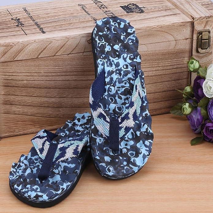 Sandalias para hombre, RETUROM Sandalias de camuflaje de los hombres vendedores calientes (37, Púrpura-mujeres)