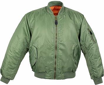 Desconocido Ma1 Chaqueta, Color Verde - Verde Oliva, tamaño ...