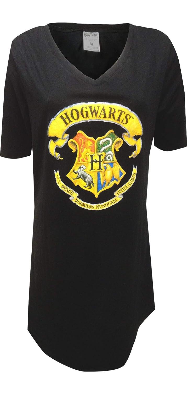 Harry Potter Womens Hogwarts Crest Ladies Nightshirt