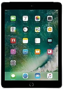 "Apple iPad 9.7"" with WiFi 32GB- Space Gray (2017 Model) (Renewed)"