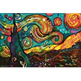 Starry Night By Dean Russo Poster by Dean Russo 36 x 24in