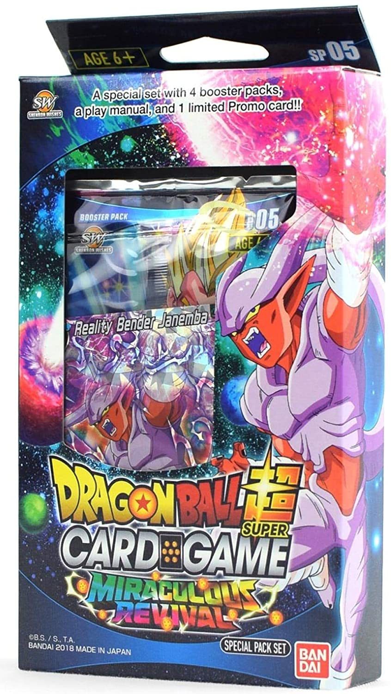 Bandai BCLDBSP1176 Dragon Ball Super Juego de Cartas: Paquete ...