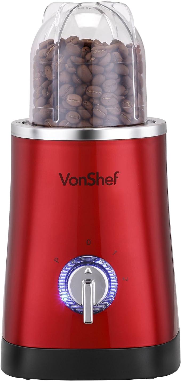 VonShef 4 en 1 multifuncional Rojo 1L fabricante del Smoothie ...