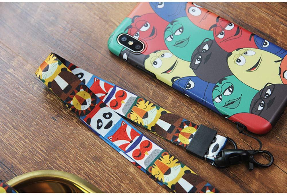 Lanyard for Neck Key Holder ID Badge Holder Child Lanyard Neck Strap Keychain Phone Christmas Gifts for Family