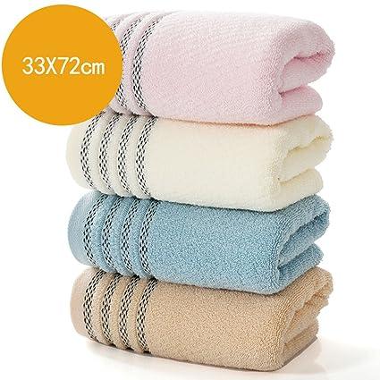 Toallas CHENGYI Deportes Suaves absorbentes del Hotel Microfibra del algodón casero (4 Pedazos/Sistemas