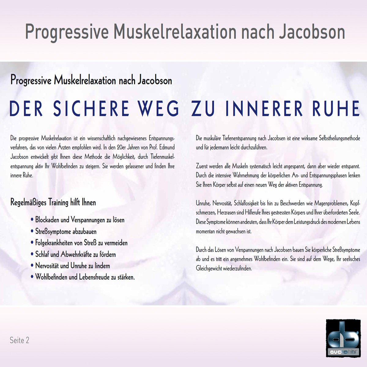 Progressive Muskelrelaxation nach Jacobson by Dr. Stephan Frucht ...
