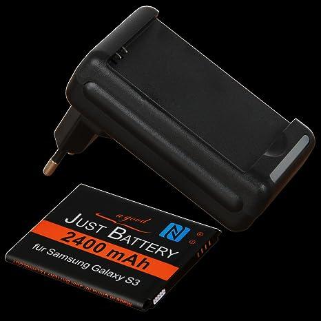 Set de Cargador + JuBaTec NFC Batería Para Samsung GT-i9300 ...