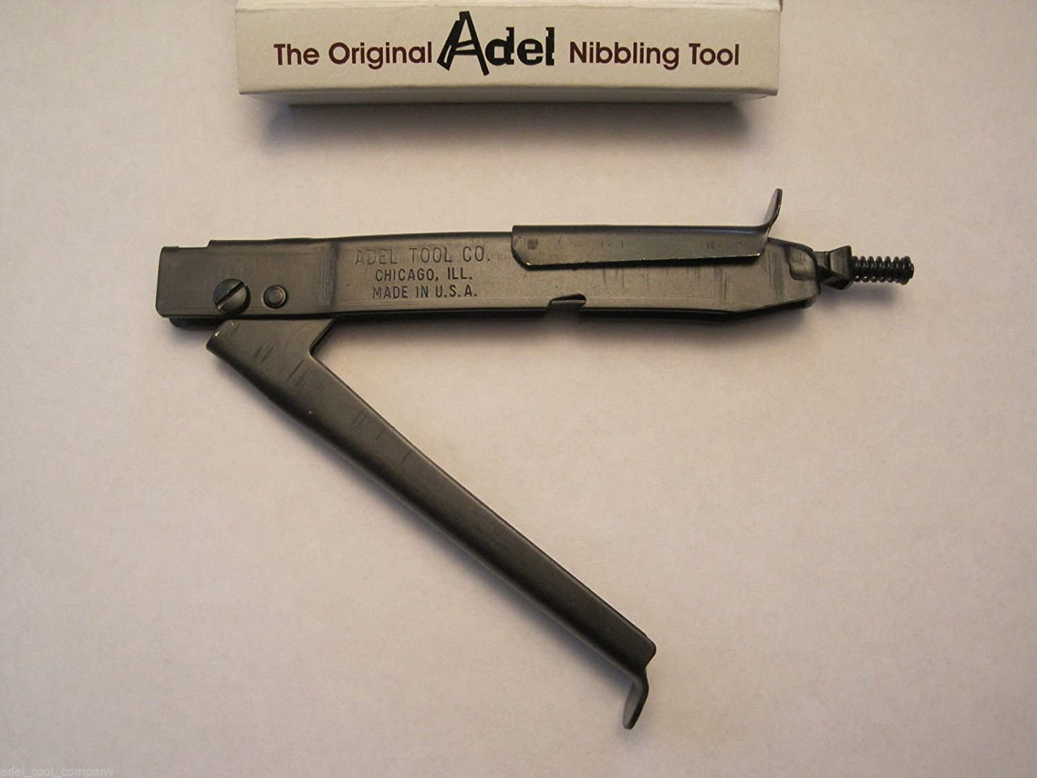 Replacement Punch For Adel Nibbler Nibbling Tool New In Original Box W// Instr