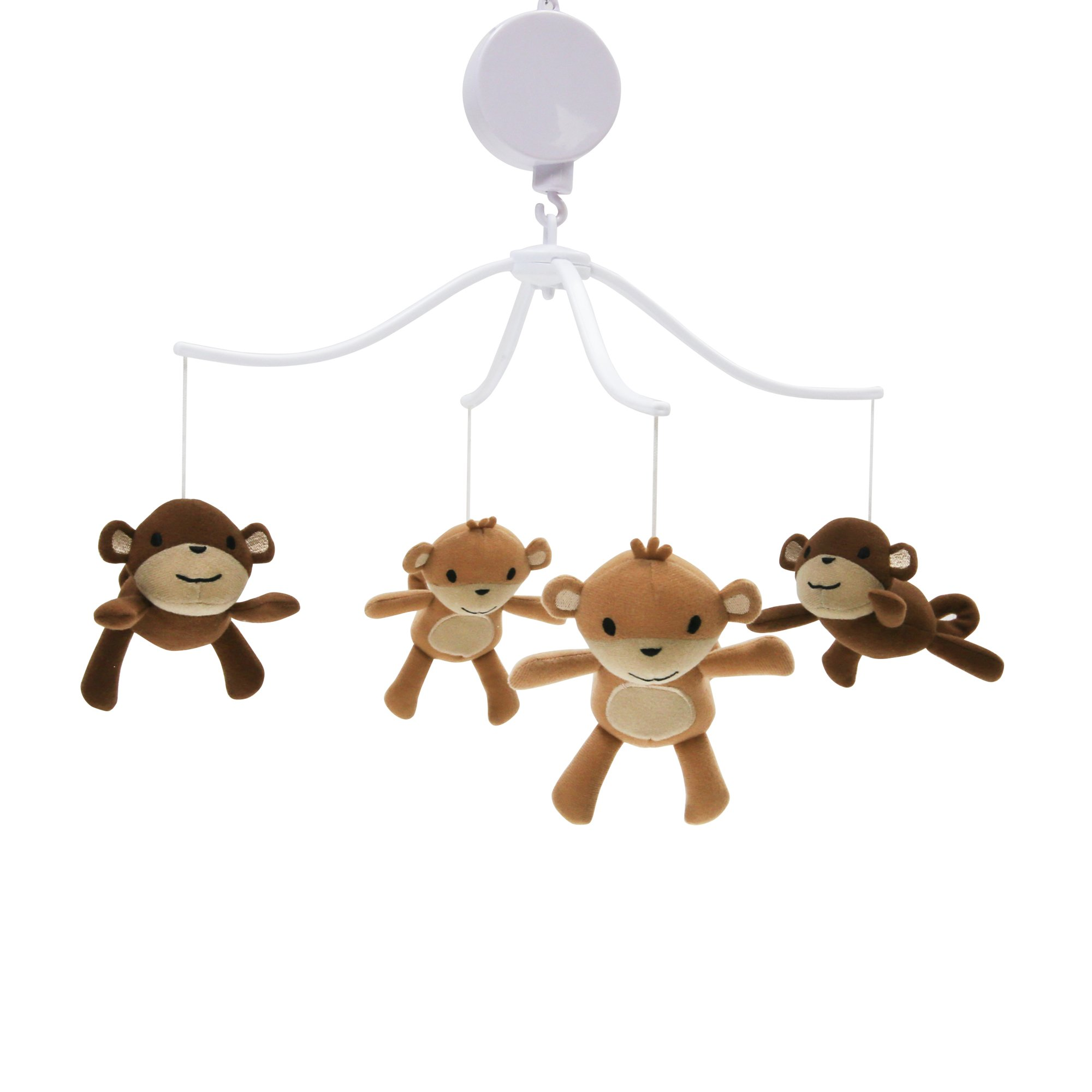 Bedtime Originals Mod Monkey Musical Mobile