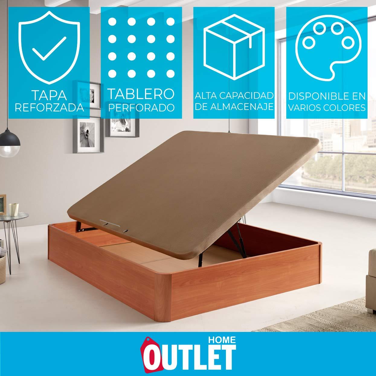 HOME Canap/é abatible de Apertura Lateral Tropic Medida 80x180 cm Color Aluminio
