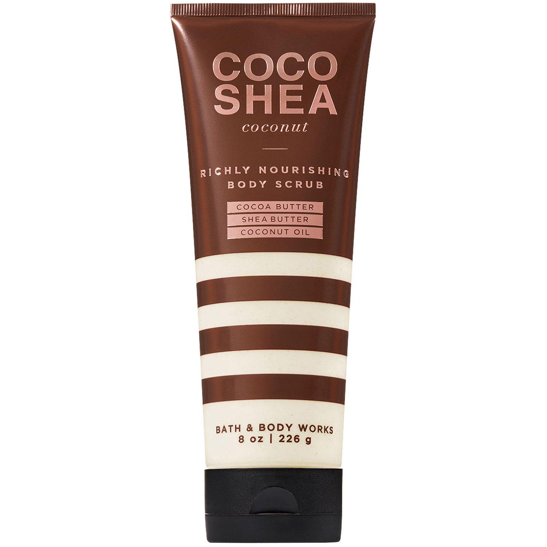 Bath and Body Works Cocoshea Coconut Richly Nourishing Body Scrub 8 Ounce
