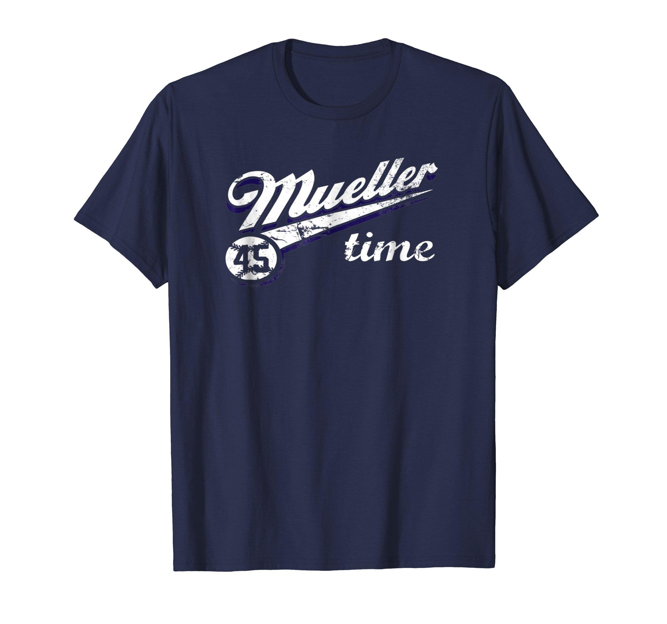 Mueller Time Anti Trump 2018 Resist TShirt