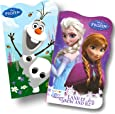 Disney Baby Toddler Board Books - Bundle of 2 (Disney Frozen Board Books)