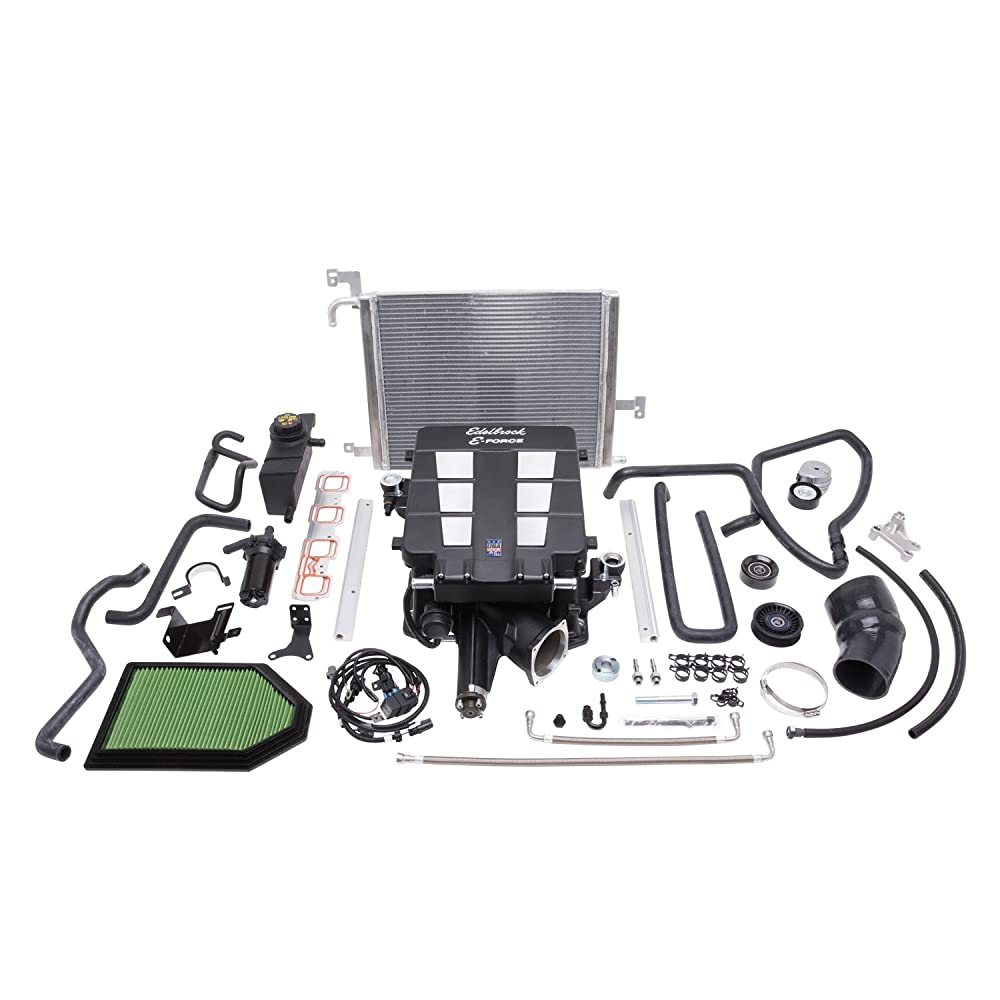 15. Edelbrock 15353 E-Force Stage-3 Pro Tuner Systems Supercharger Kit