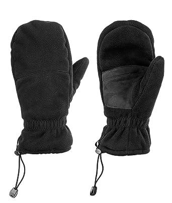 d504ed67c058a3 Fünf Finger Fäustling: Hybrid Winterhandschuh - Unisex - ideal für Freizeit  & Sport - atmungsaktive