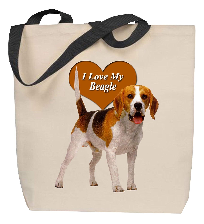 Beagle Tote Bag FREE SHIPPING Personalized Beagle Tote Bag Beagle Gift 100/% Cotton Canvas Dog Tote Bag Beagle Tote Custom Dog Gifts