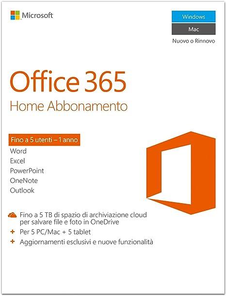 Microsoft Office 365 Home Box Pack Elektronik